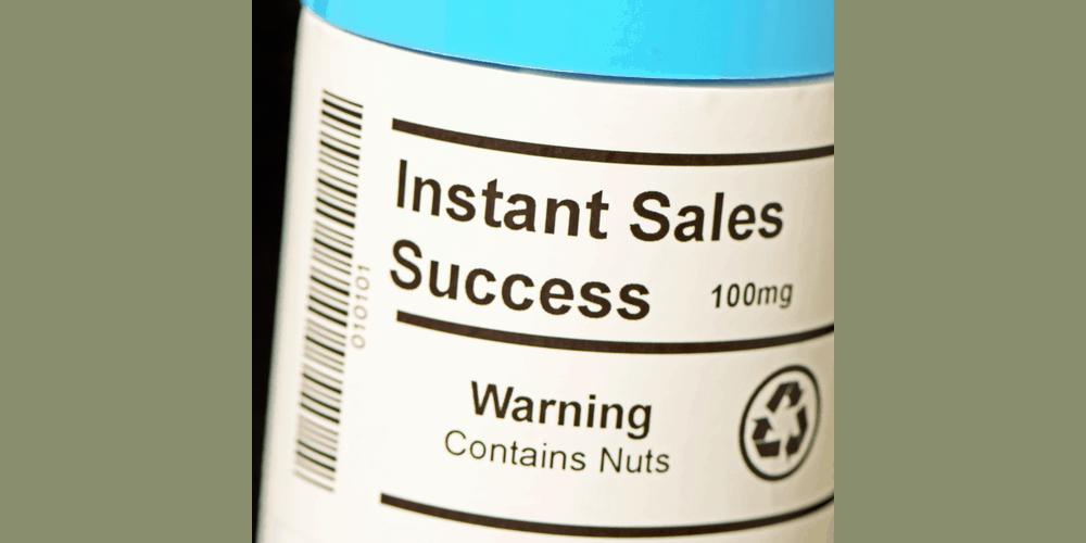 Sales Success In A Bottle